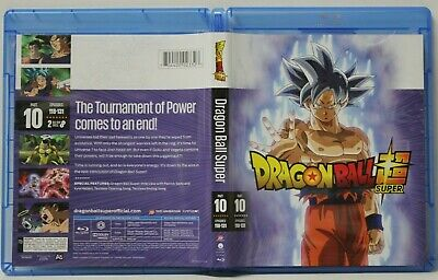 Dragon Ball Super: Part 10 (Blu-Ray, 2-Disc) FREE Shipping Episodes 118-131