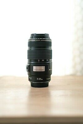 USED Canon EF 75-300mm f/4.0-5.6 IS USM Lens