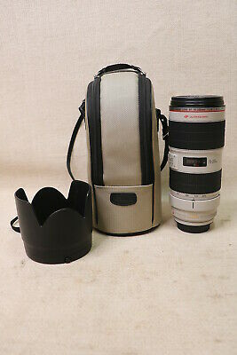 Canon EF 70-200mm f/2.8 L IS II USM Lens Canon Digital SLR DSLR Camera LOOK .99