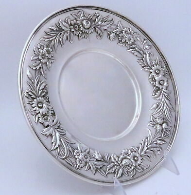 S. Kirk & Son Repousse Sterling Silver Tray