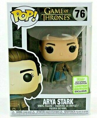 Funko Pop Emerald City Comic-Con 2019 Game of Thrones Arya Stark Vinyl Figure