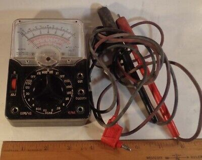 Vintage Lafayette Industrial Multimeter Analog Model 99-50734