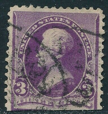 Dr Jim Stamps Us Scott 221 3C Jackson Used Cut Perforations No Reserve