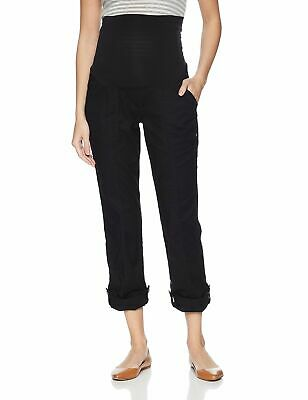 Motherhood Maternity Womens Black Size Large L Capris Stretch Pants $39 930