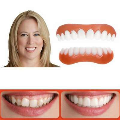 Instant Perfect Smile Teeth Cosmetic Veneers Comfort Covers Snap On One Size