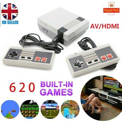 620 in 1 Games Classic Mini Console for NES Retro with Gamepads For Nintendo NEW