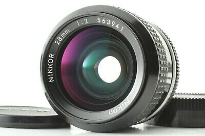[Excellent+++++] Nikon NIKKOR 28mm f/2.0 AI-S MF Lens From Japan 0202A