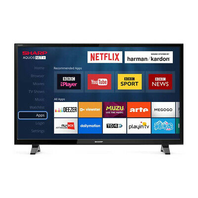 "Sharp 40"" Inch LED Smart TV with Full HD Display and harman/kardon sound"