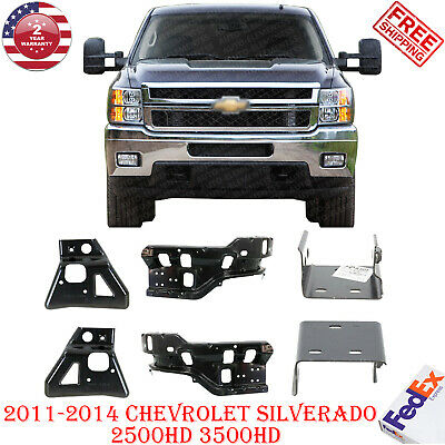 FRONT BUMPER OUTER BRACE SIDE BRACKET LH /& RH FOR SILVERADO 2500HD 3500HD 11-14