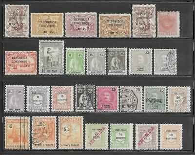 St. Thomas & Prince Islands Collection All Pre 1940
