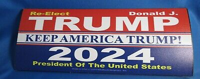 WHOLESALE LOT OF 16 TRUMP MAGNET 2024 2020 KEEP AMERICA GREAT CAMPAIGN sticker
