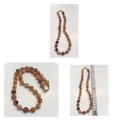 Afghanistan old agate stone necklace very beautiful agate stone natural stone