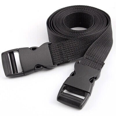 2Pcs Adjustable Nylon Travel Camping Luggage Tent Bind Band Strap Accessories