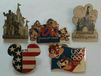 Disney World Trading Pins Lot of 5. Very Good
