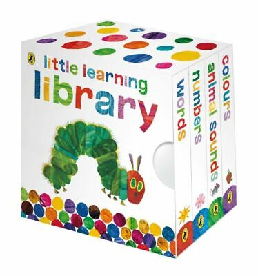 The Very Hungry Caterpillar Little Learning Library Mini Books