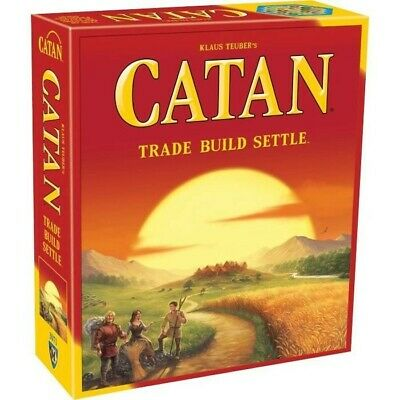 Catan 5th Edition CN3071 Standard Original Strategy Board Game