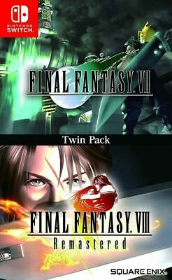 Final Fantasy VII & VIII Remastered Collection Nintendo Switch [Twin Pack, RPG]