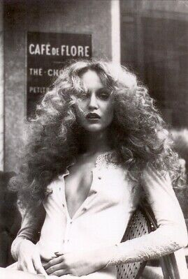 Jerry Hall Black And White 8x10 Picture Celebrity Print