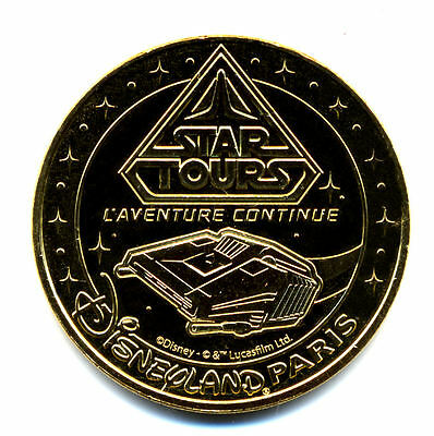 77 DISNEY Star Tours 2, L'Aventure continue, 2020, Monnaie de Paris