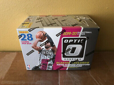 IN HAND * 2019-20 Panini Donruss Optic Basketball BLASTER VALUE Box Walmart