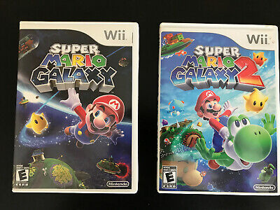 Super Mario Galaxy 1 And 2 Wii Games