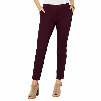 TOMMY HILFIGER NEW Women's Montauk Stretch Chino Skinny Pants TEDO