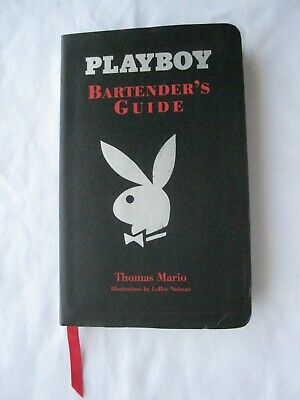 PLAYBOY Bartender's Guide by LeRoy Neiman #A1/NEW/NEVER USED