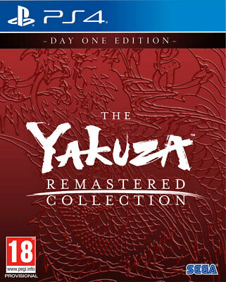 Yakuza Remastered Collection Day One Edition (PS4) BRAND NEW AND SEALED