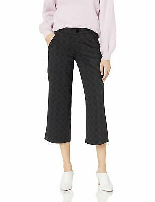 Jag Jeans Womens Pants Gray Size 16 Mid-Rise Plaid Cropped Stretch $79 518