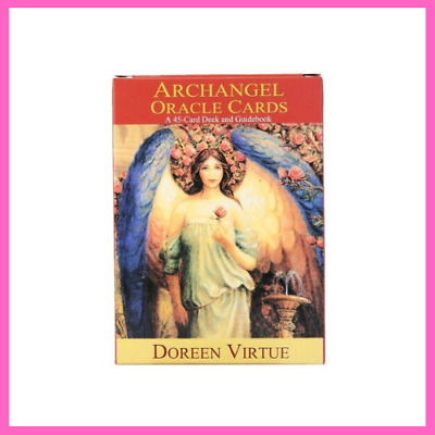 Tarot Deck Archangel Oracle Cards Read Fate Earth Magic Oracle For Personal Use