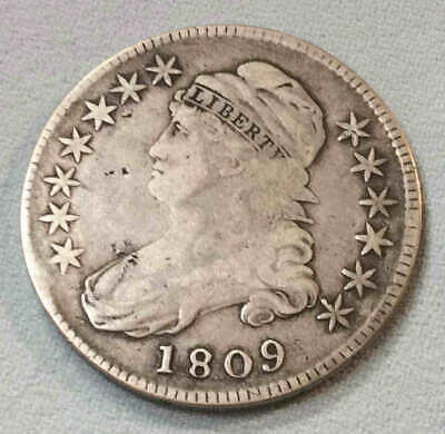 1809 Bust Half Dollar Early Date h4