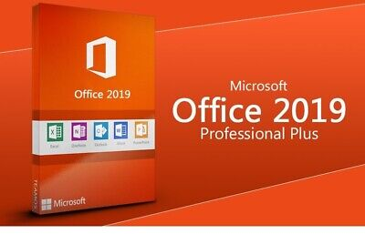 Microsoft Office 2019 Pro Plus 32/64 bit Genuine Key Code INSTANT