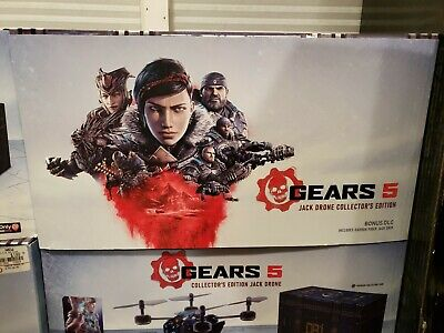 Xbox One Gears of War 5 Jack Drone Collector's edition Bundle No game New 2daySh