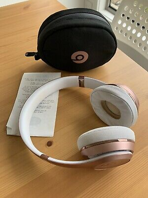 $1 RESERVE Beats by Dr. Dre Solo3 Wireless Over the Ear Headphones - Rose Gold