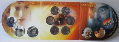 New Zealand: 2003 Lord of The Ring 6x 50c  UNC in Mint Package