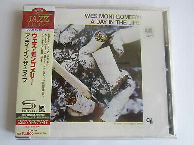 Wes Montgomery - A Day In The Life 1967/2011 Japan Shm Cd Uccu-6016