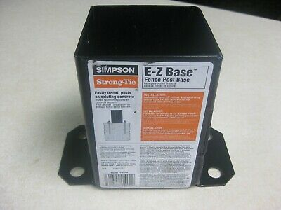 Simpson Strong-Tie E-Z Base Fence Post Base Model FPBB44