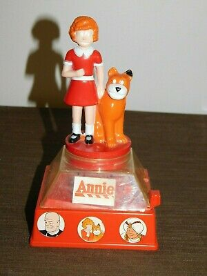 Vintage Toy 1981 Columbia Pictures  Little Orphan Annie Penny Gumball Bank