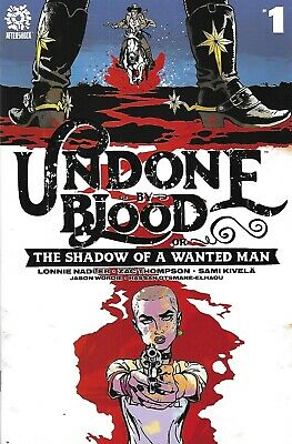Undone By Blood Or The Shadow Of A Wanted Man Comic 1 Cover A Sami Kivela 2020