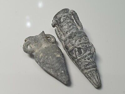 Byzantine Pilgrim's Holy Water Ampulla Group 10th-12th century AD