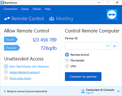 TeamViewer 15 ✔latest version 2020 Unlimited PC's Lifetime ✔