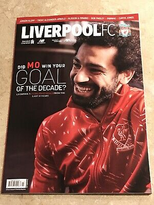 *Liverpool Fc Official Magazine March 2020  - Mo Salah - Excellent Condition*