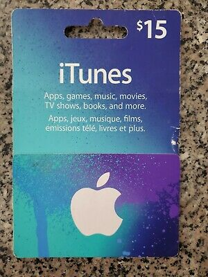 iTunes Canadian Gift Card - $15