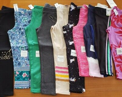 NEW Old Navy Girl SIZE 5 Leggings Pants Lot 10 PIECES Full / Crop Length #15-556