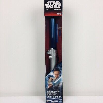 Disney Star Wars The Force Awakens Blade Builders Electronic Lightsaber Rey