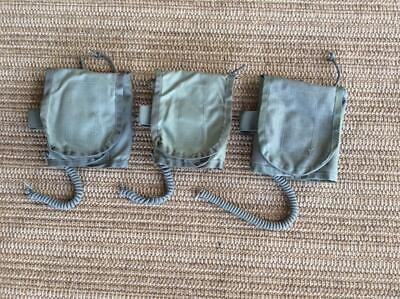 3 Lot Army Military Surplus 1st First Aid Medic Survival Kit Bandage Pouch USGI