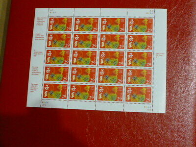 United States Scott 2720 the 29 cent CHINESE LUNAR NEW YEAR ROOSTER PANE OF 20