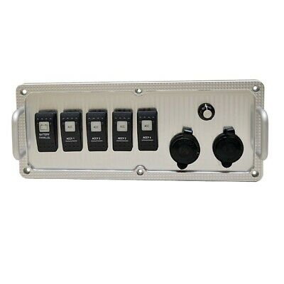Hydra Sports Starboard Tab Black Boat Rocker Switch Cover Plate Hs14225006