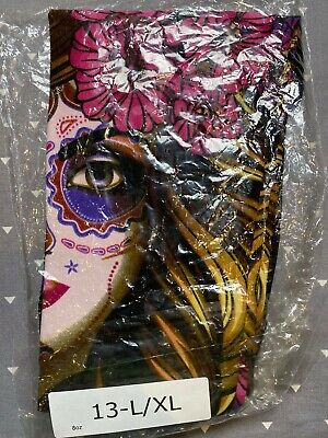 Pair Kids Size Large Extra Large Lularoe Leggings 13 Day of the Dead