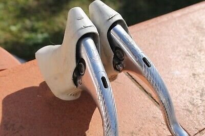 Vintage leve Campagnolo CROCE D AUNE/ C RECORD levers w/hoods Colnago pre owned